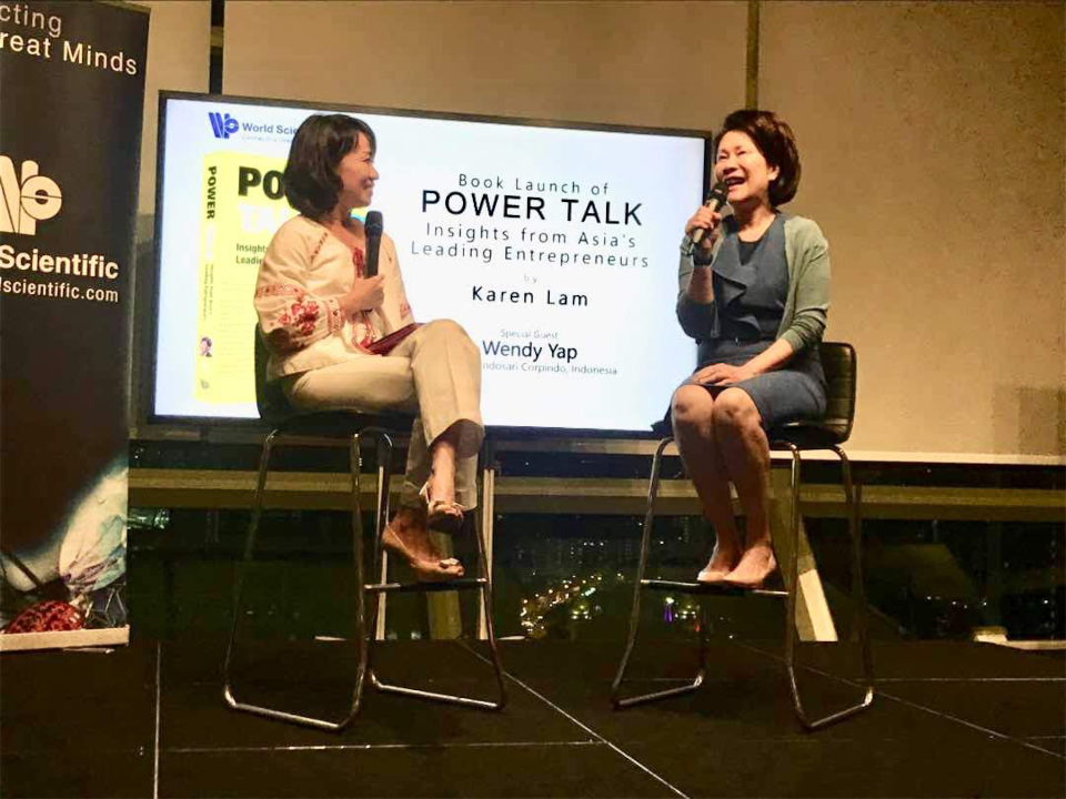 Launch of Power Talk with Wendy Yap of Nippon Indosari Corpindo